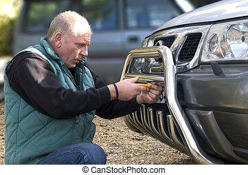 automóvil, registro
