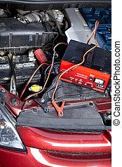 automóvil, repair.
