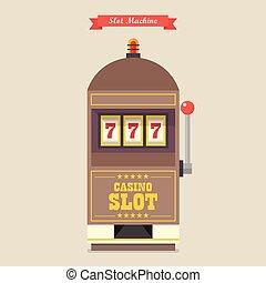 automat, hazard, kasyno, pozycja