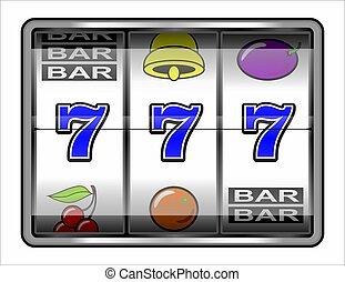 automat, kasino