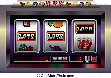 automat, liebe