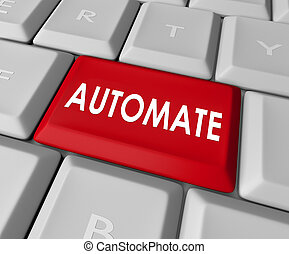 Automate Word Computer Keyboard Key Button Immediate Results