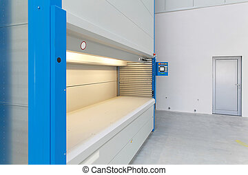 Automated carousel storage