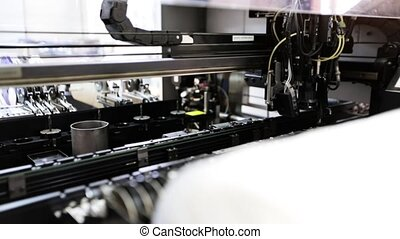Automated Electronic circuit board production