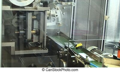 packaging for tablets - Automated production of medicines....