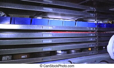 Automated Storage facility (loop) - Fully automated storage...