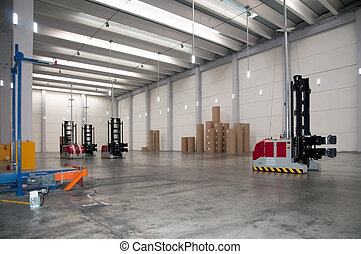 Automated warehouse (paper)