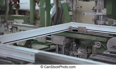 Automatic line of windows production