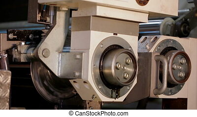 Automatic Machine Production of tape for laminate -...