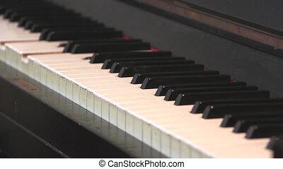 Automatic Piano - Shot of Automatic Piano