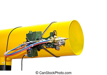 Automatic pipe welder - Automatic welder for pipes in oil...