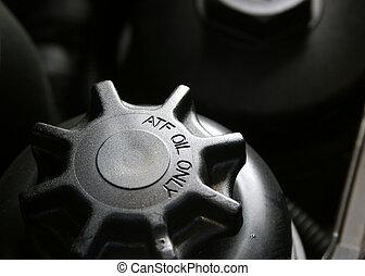Automatic transmission fluid cap