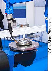 Automatic Welding CNC Machine Robot, Modern Production