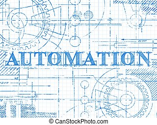 Automation Graph Paper Technical Drawing
