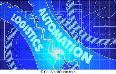 International agreement concept blueprint of gears clip art automation logistics concept blueprint of gears malvernweather Images