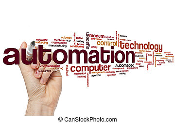 Automation word cloud