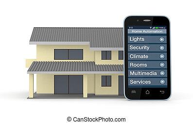 Automazione immagini di archivi di illustrazioni - Automazione casa ...