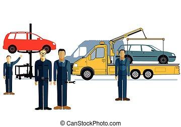 automechaniker,  EPS