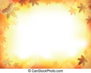 automne, 8, thème, fond
