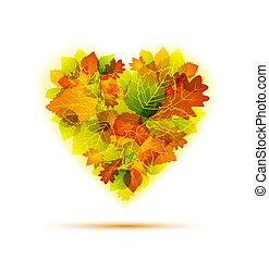 automne, coeur