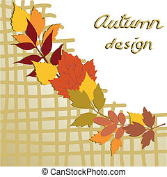 automne, conception