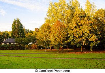 automne, ecosse