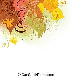 automne, fond