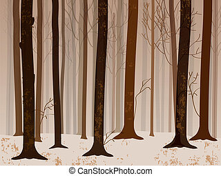automne, forrest