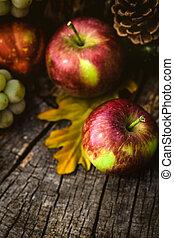 automne, fruit