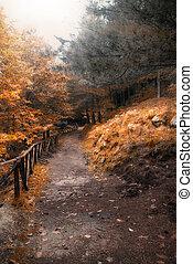 automne, manière