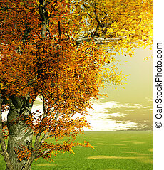 automne, paysage
