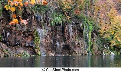 automne, plitvice, lacs