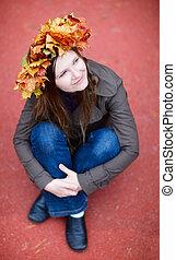 automne, portrait