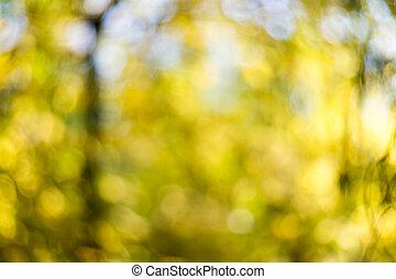 automne, résumé, fond