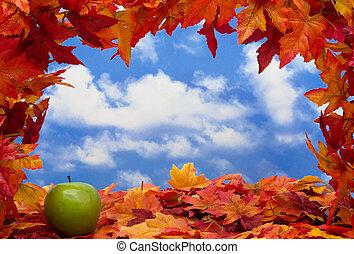 automne, scène