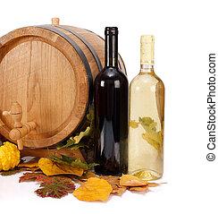 automne, vin