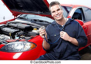 automobil mekaniker