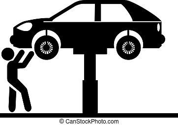 automobil tjeneste