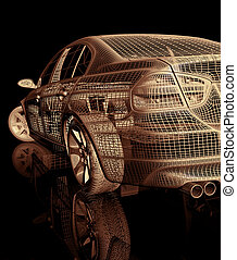 automobile, 3d