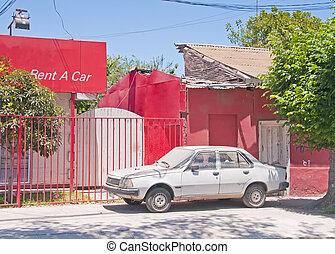 automobile, affitto