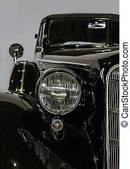 automobile, antiquato, primo piano