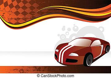 Automobile banner