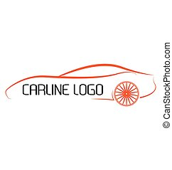 automobile, calligraphic, logos