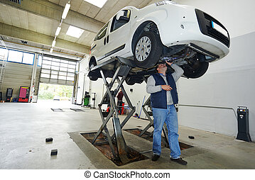 automobile car checkup