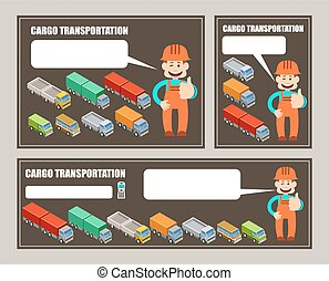 Automobile cargo transportation.