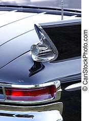 automobile, coda, lampada, classico