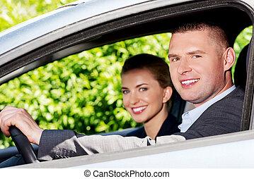 automobile, coppia