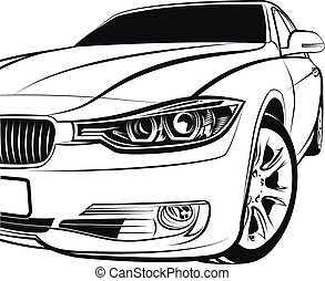 automobile, coupe