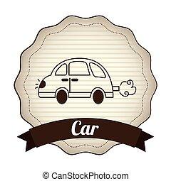 automobile, disegno