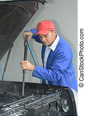 automobile engine cleaning